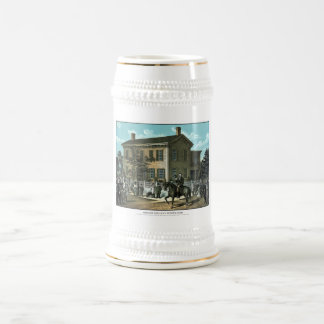 Abraham Lincoln's Return Home Beer Stein