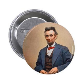 Abraham Lincolon 2 Inch Round Button