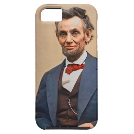 Abraham Lincolon iPhone 5 Covers