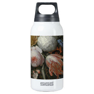 Abraham Mignon A Hanging Bouquet of Flowers probab Insulated Water Bottle