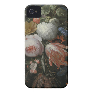 Abraham Mignon A Hanging Bouquet of Flowers probab iPhone 4 Case