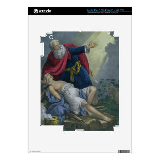 Abraham Offering Up his Son Isaac, from a Bible pr Decal For iPad 3