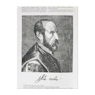 Abraham Ortelius Stretched Canvas Prints