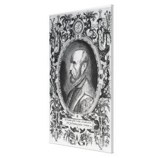 Abraham Ortelius Canvas Print