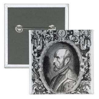 Abraham Ortelius Pin Cuadrado
