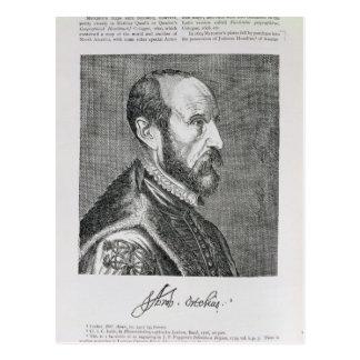 Abraham Ortelius Post Card
