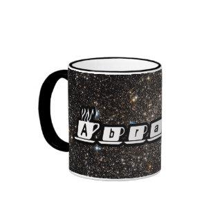 Abraham - Our Starry Universe Ringer Mug
