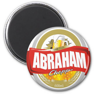 Abraham.png 2 Inch Round Magnet