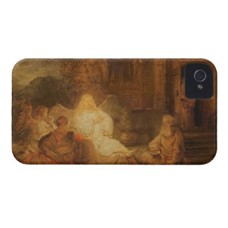 Abraham Receives the Three Angels, 1646 (oil on pa iPhone 4 Cover