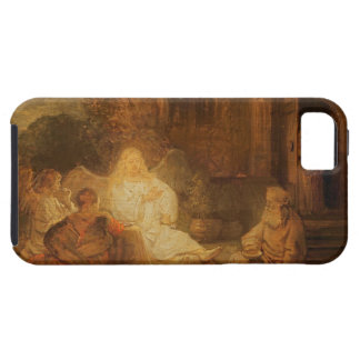Abraham Receives the Three Angels, 1646 (oil on pa iPhone SE/5/5s Case