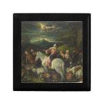 Abraham sale de Haran de Francisco Bassano Cajas De Joyas