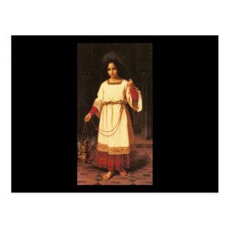Abraham Solomon The Acolyte Postcard