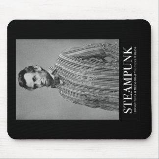 Abraham Steampunk Alfombrillas De Ratones