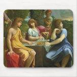 Abraham & The Three Angels Mousepad