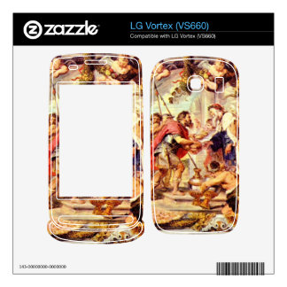 Abraham with Melchizedek by Paul Rubens Decal For The LG Vortex