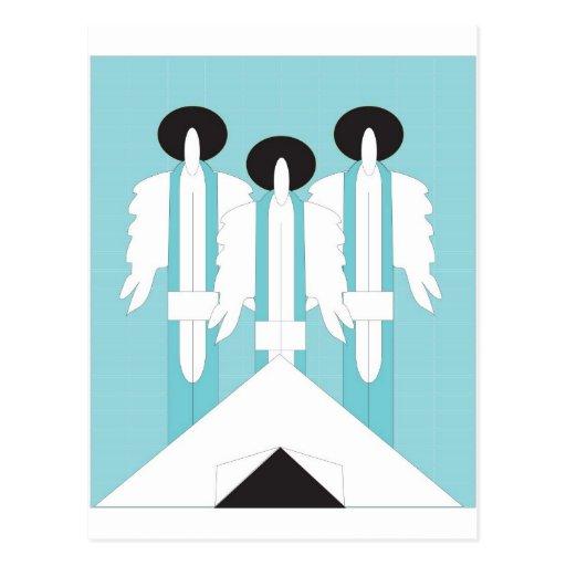 Abraham y la postal de los ángulos