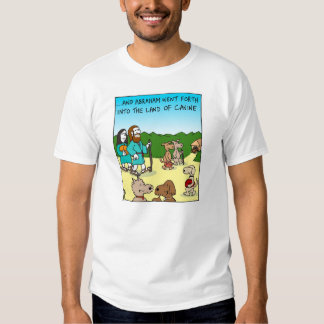 Abraham y la tierra del colmillo playeras