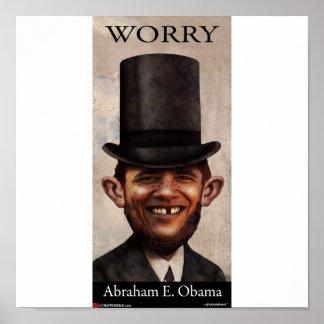 AbrahamE.Obama Posters