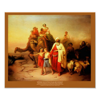 Abraham's Journey Josef Molnar Reproduction Poster