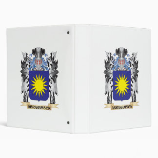 Abrahamson Coat of Arms - Family Crest 3 Ring Binders