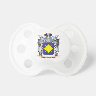 Abrahamson Coat of Arms - Family Crest BooginHead Pacifier