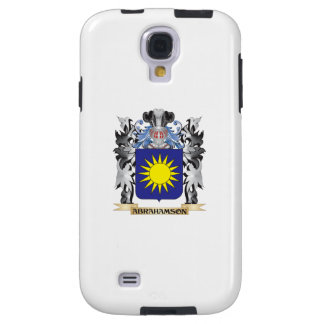 Abrahamson Coat of Arms - Family Crest Galaxy S4 Case