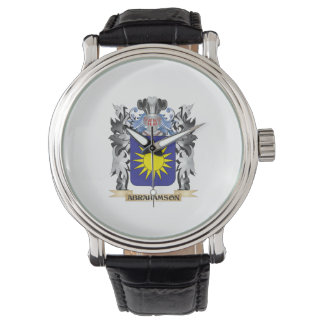 Abrahamson Coat of Arms - Family Crest Watch