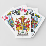 Abrahamson Family Crest Playing Cards