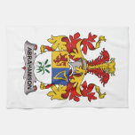 Abrahamson Family Crest Towels