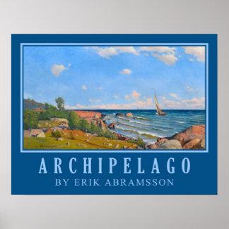 "Abrahamsson's ""Archipelago"" art poster"