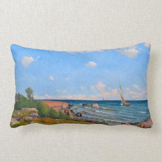 "Abrahamsson's ""Archipelago"" throw pillow"