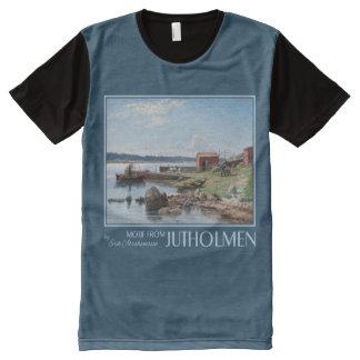"Abrahamsson's ""Motif from Jutholmen"" art t-shirt"