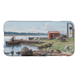"""Abrahamsson's """"Motif from Jutholmen"""" custom cases Barely There iPhone 6 Case"""