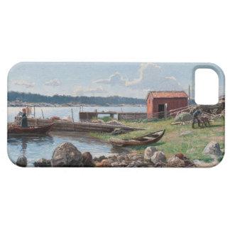 "Abrahamsson's ""Motif from Jutholmen"" iPhone case"