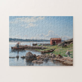 """Abrahamsson's """"Motif from Jutholmen"""" puzzle"""