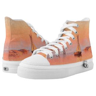 Abrahamsson's Sailboats art shoes Printed Shoes