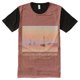 Abrahamsson's Sailboats art t-shirt