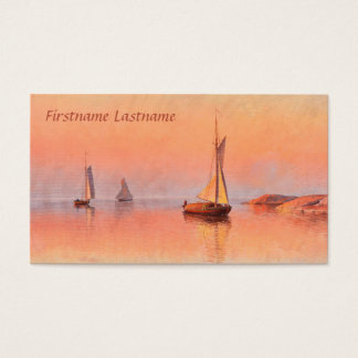 Abrahamsson's Sailboats business cards
