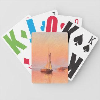 Abrahamsson's Sailboats playing cards