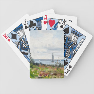Abrahamsson's Sailboats playing cards