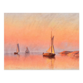 Abrahamsson's Sailboats postcard