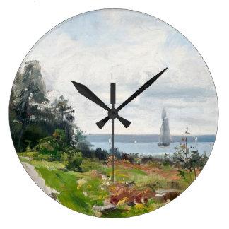 Abrahamsson's Sailboats wall clocks