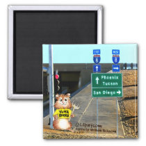 Abrahamster in Yuma Forking Thoughts Magnet