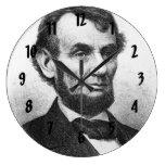Abrahan Lincoln Reloj Redondo Grande