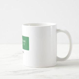 Abram 'Nuff Said - Light Background Coffee Mug