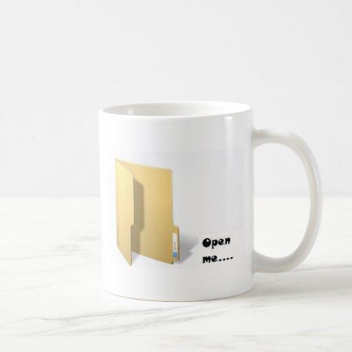 ábrame tazas de café