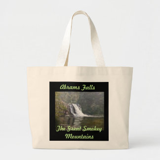 """ABRAMS FALLS THE GREAT SMOKEY MOUNTAINS TOTE"" TOTE BAGS"