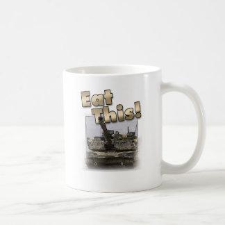 Abrams Tank - Eat This! Coffee Mug