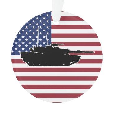 Abrams Tank Ornament