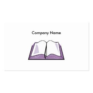 Ábrase nombre de Bible, Company Tarjeta De Visita